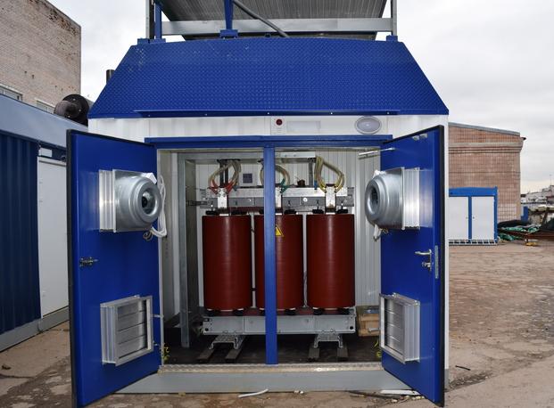 Система газоснабжения контейнера с ГПУ