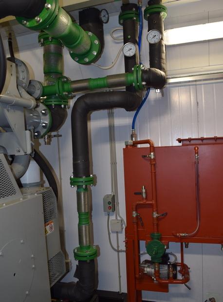 Обвязка системы охлаждения