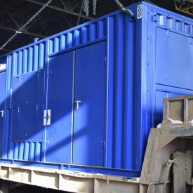 Отгрузка контейнера с ДГУ мощностью 150 кВт