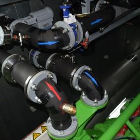 ГПУ Waukesha мощностью 1100 кВт в контейнере 12000x3000x3000мм