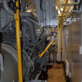 Система газоснабжения (внутренняя обвязка ГПУ в контейнере) Waukesha мощностью 1100 кВт