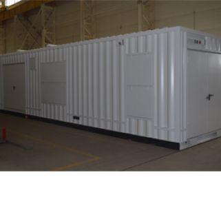 Автоматизированные электростанции контейнерного типа на базе дизельных двигателей, мощностью от 8 до 2500 кВт