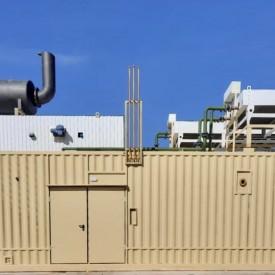 Контейнер металлический - 12000х4876х3300мм. с ГПУ Caterpillar мощностью 2000 кВт