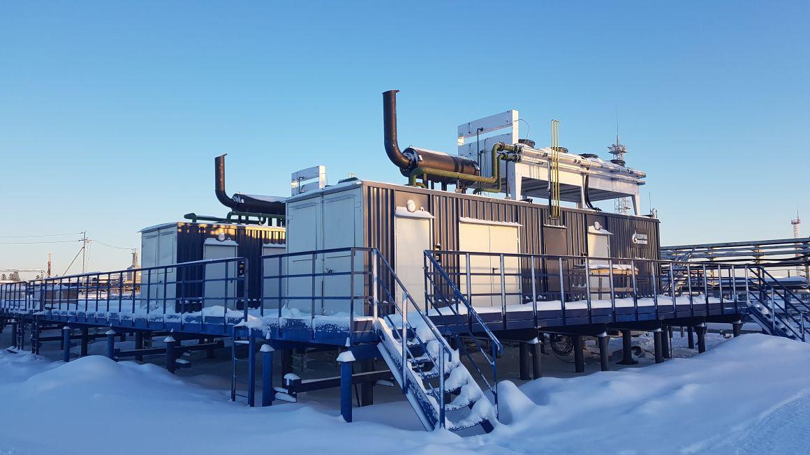 Блок-контейнерные электростанции
