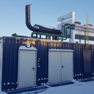 Автоматизированные электростанции контейнерного типа на базе газопоршневых двигателей, мощностью от 50 до 4000 кВт